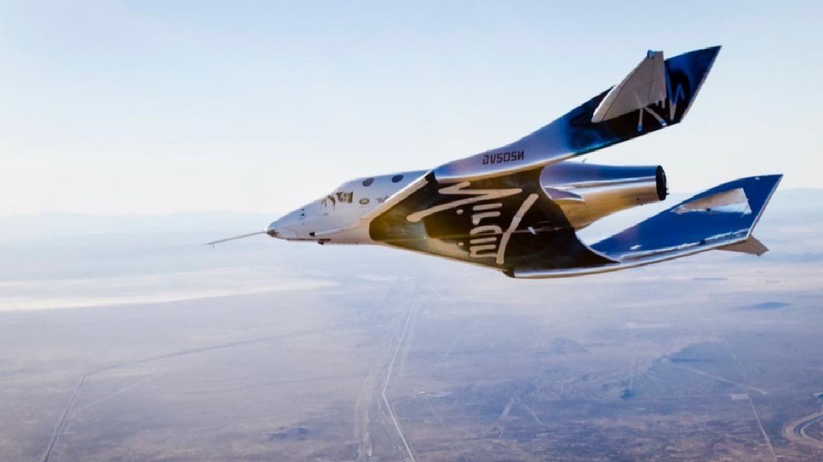 Virgin Galactic ikinci uçuş testini tamamladı