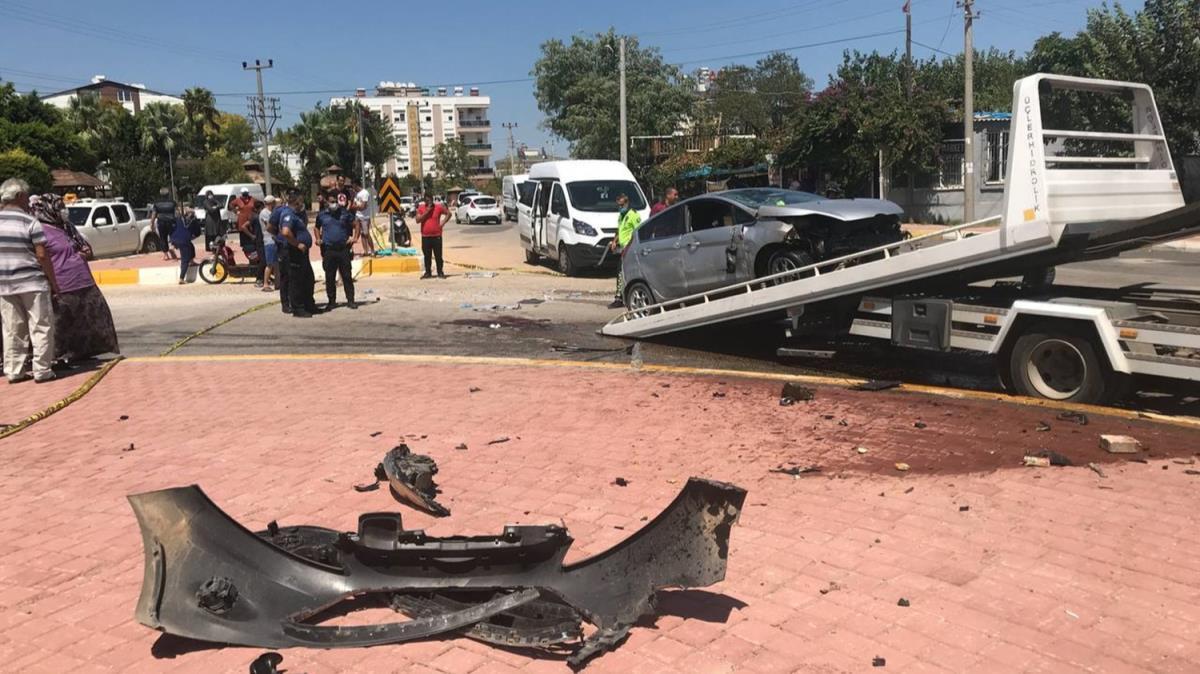 13 yaşındaki çocuğun kullandığı otomobil devrildi, 15 yaşındaki çocuk öldü