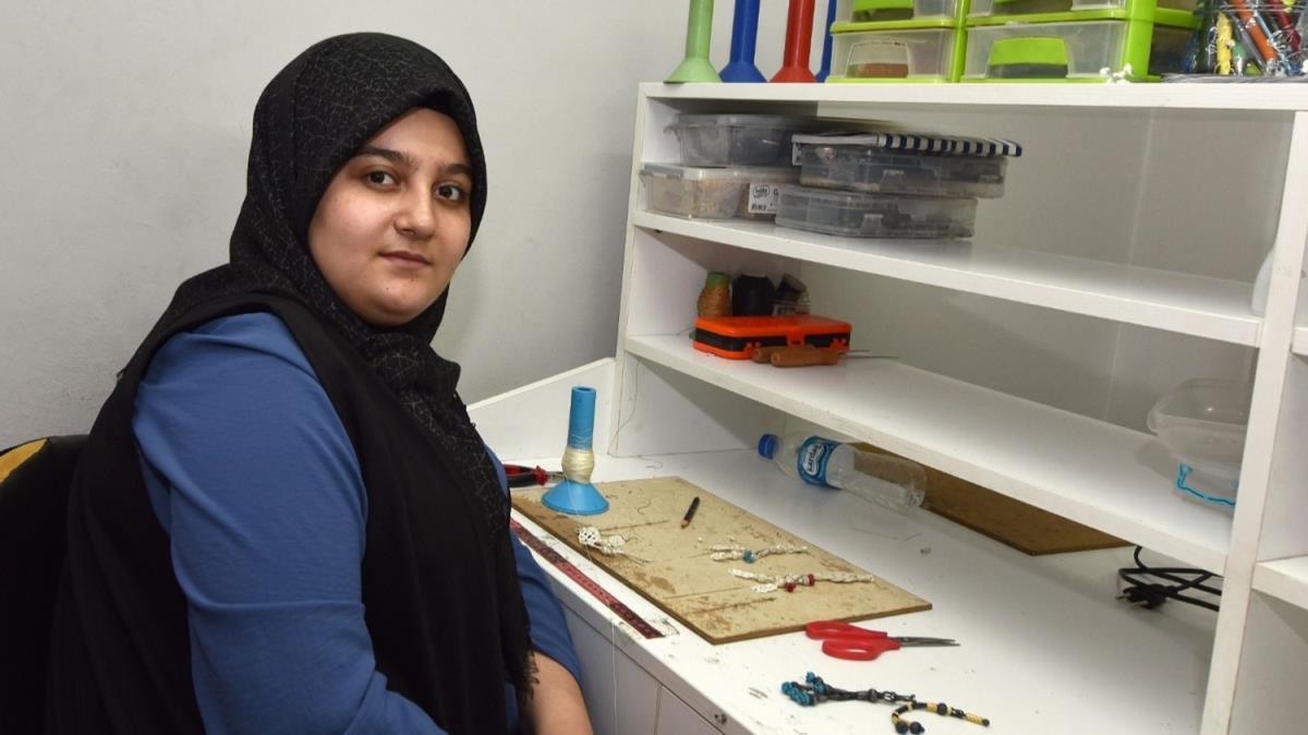 15 yaşındaki Yaprak Türkiye'de 2021 yılının çırağı seçildi
